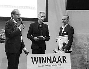 Triple Solar winnaar Innovative Energy Solution Award!